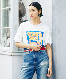 COSMIC SOUND プリント Tシャツ