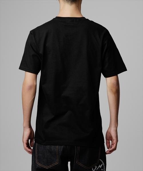 カラーロゴクルーネックTシャツ