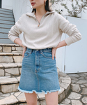 Vicente | 【Gina2018Fall掲載】Vicente denim skirt(デニムスカート)