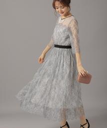 Andemiu(アンデミュウ)のハイショクレースドレス851686(ドレス)
