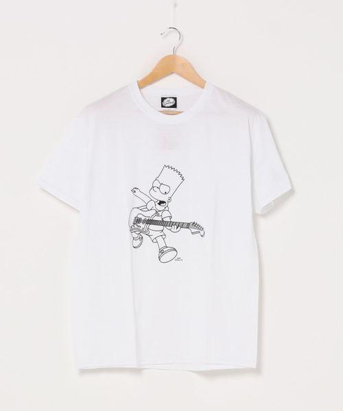 ∴【 simpsons / シンプソンズ 】simpsons ROCK Tシャツ