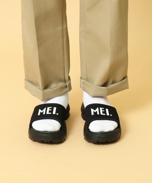 ∴【 MEI / メイ 】 FLAT SANDAL フラットサンダル メンズ