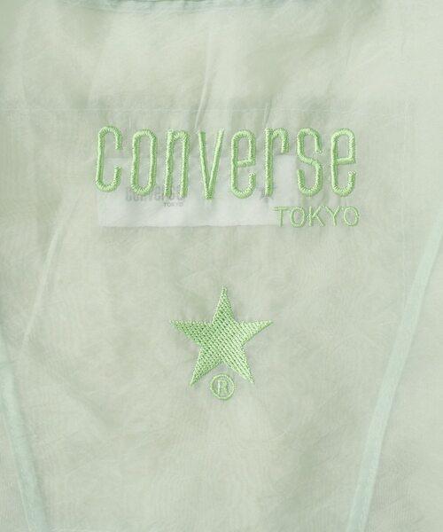 CONVERSE TOKYO(コンバーストウキョウ)の「シアーロゴ刺繍コンビニバッグ(トートバッグ)」|詳細画像
