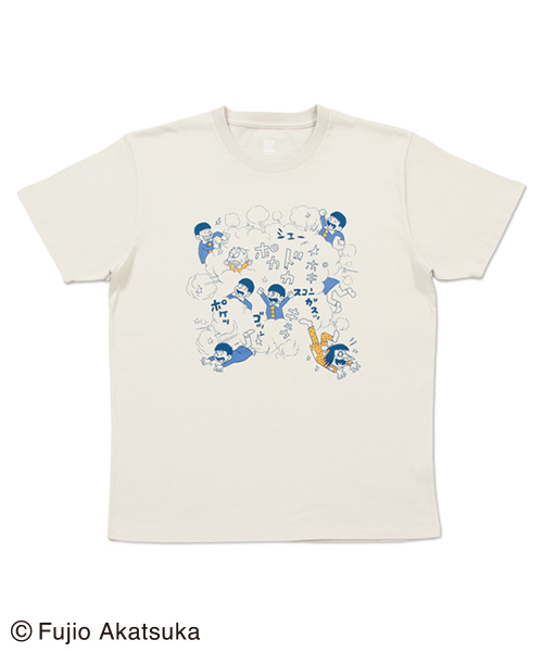 コラボレーションTシャツ/赤塚不二夫(おそ松くんケンカシーン)