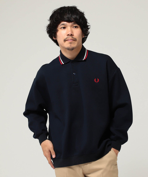 クラシック FRED PERRY × BEAMS / 別注 オーバーサイズ ピケ シャツ, ローリングストーン 2b1e4c6f