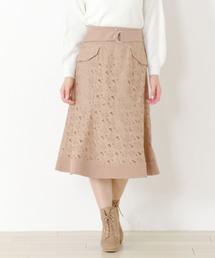 MISCH MASCH(ミッシュマッシュ)のレースマーメイドスカート(スカート)