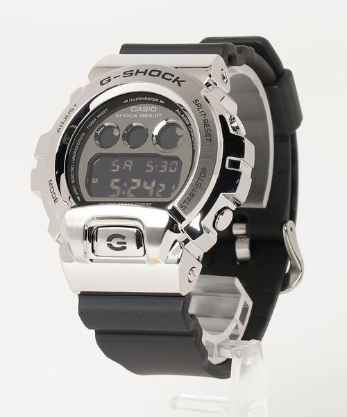 【 CASIO / カシオ 】G-SHOCK / Gショック GM-6900-1  silver/シルバー DKS