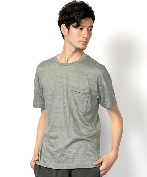 【期間限定】 【セール】Drop Shoulder Neck Crew Neck Crew Pocket T-shirt Bleu/ドロップショルダー クルーネックポケットTシャツ(Tシャツ/カットソー) LANVIN en Bleu(ランバンオンブルー)のファッション通販, ベビースイミング:f9c345d9 --- fahrservice-fischer.de