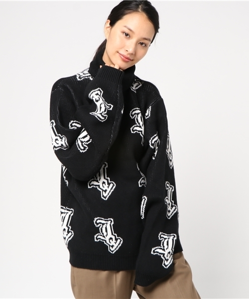 Joy Logo Turtle Neck Sweater