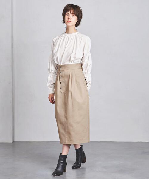 <ELIN(エリン)>ポケット ハイウエスト スカート