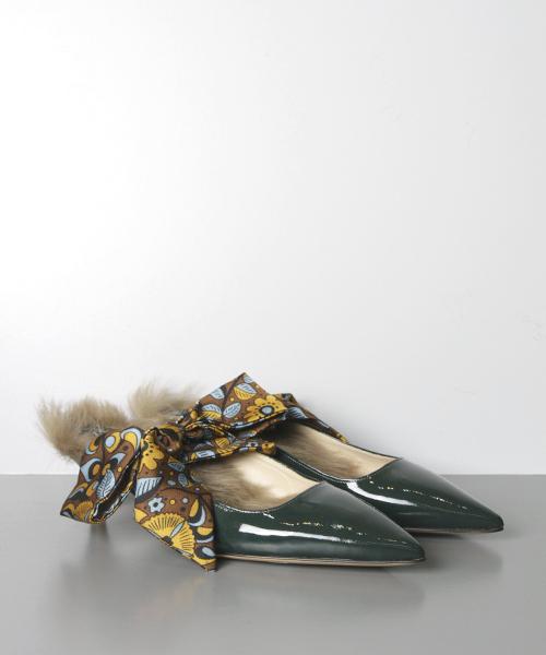 売れ筋商品 【セール】FABIO RUSCONI(ファビオ ルスコーニ)/ RUSCONI(ファビオ【20th Anniversary セール,SALE,FABIO Model】リボンスカーフ Anniversary ファーパンプス(パンプス)|FABIO RUSCONI(ファビオルスコーニ)のファッション通販, TSSプロネット住宅資材:5d4abf5a --- fahrservice-fischer.de