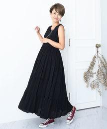 955d27847e754 Maternity wear(マタニティウェア)の「ボリュームスカート マタニティワンピース(マタニティウェア)