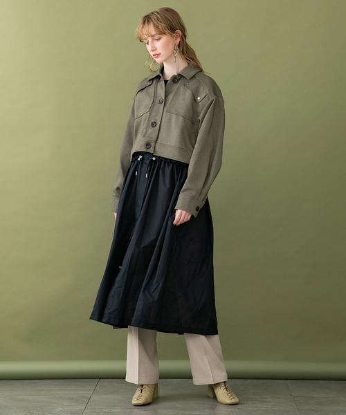 本物 TOKYO UNITED2WAYオーガンジーコート(ブルゾン)|UNITED TOKYO(ユナイテッドトウキョウ)のファッション通販, カスヤグン:e5096e6e --- tsuburaya.azurewebsites.net