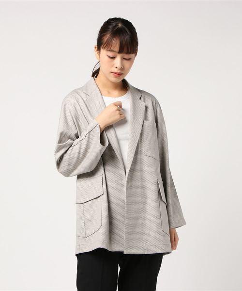 【楽天ランキング1位】 【セール】ドットジャガードブルゾン(テーラードジャケット)|qualite(カリテ)のファッション通販, スワシ:6077b51b --- ruspast.com