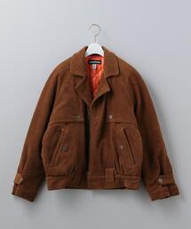 <MONITALY>CORDUROY QUILTED BLOUSON/ブルゾン Ψ