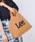 Lee(リー)の「【Lee】2WAYキャンバストート(ショルダーバッグ)」|キャメル
