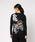 ANPANMAN KIDS COLLECTION(アンパンマンキッズコレクション)の「【アンパンマン】和風デザイン愛と勇気長袖Tシャツ おとな(Tシャツ/カットソー)」|ブラック