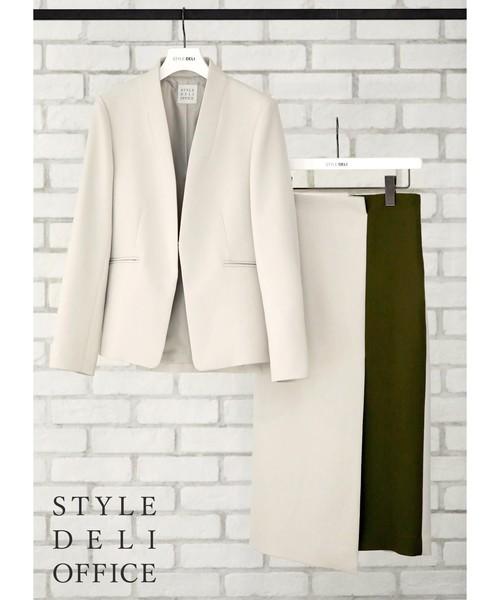超歓迎された 【SD in OFFICE】二重織りノーカラージャケット/Made STYLE DELI in JAPAN(テーラードジャケット)|STYLE DELI(スタイルデリ)のファッション通販, LETDREAM:5b523d0f --- blog.buypower.ng