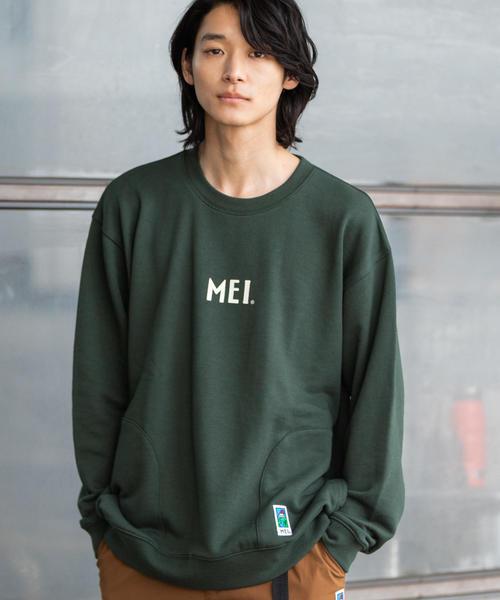 【GO OUT10月号掲載】MEI(メイ)別注スウェットクルーネック