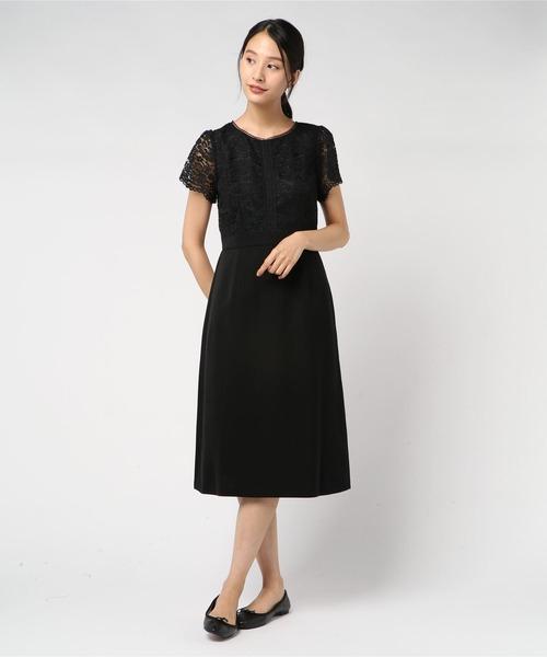 全商品オープニング価格! 【セール】レース切り替えドレス(9R04-05046)(ドレス)|Rewde(ルゥデ)のファッション通販, ライフスタイルショップ FUNFUN:8493d8d5 --- 888tattoo.eu.org
