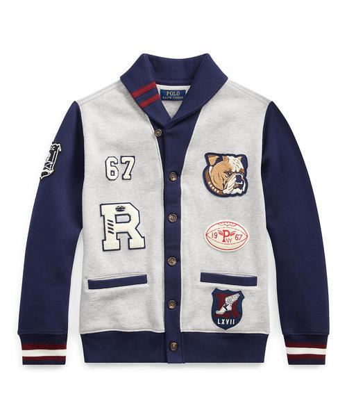 最愛 フリース レターマン LAUREN カーディガン(カーディガン) RALPH|Polo レターマン Ralph Lauren Childrenswear(ポロラルフローレンチャイルドウェア)のファッション通販, EASY NAVY:bf152dea --- fahrservice-fischer.de