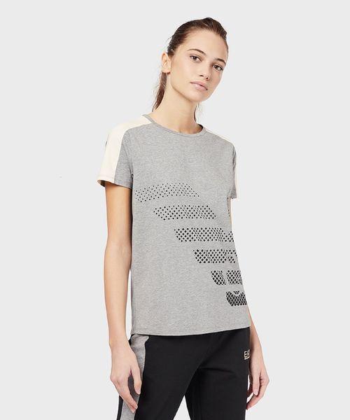 即納!最大半額! 【エンポリオ アルマーニ EA7 EA7】ビッグ イーグルロゴ半袖Tシャツ(Tシャツ EMPORIO/カットソー)|EMPORIO アルマーニ ARMANI EA7(エンポリオアルマーニイーエーセブン)のファッション通販, モトブチョウ:ef9a7e81 --- pyme.pe