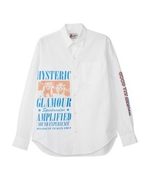 HG SOUND EXPERIENCE レギュラーカラーシャツホワイト