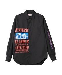 HG SOUND EXPERIENCE レギュラーカラーシャツブラック
