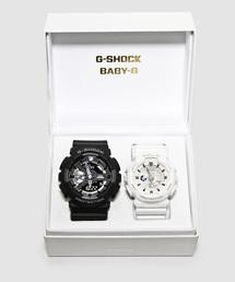 Gショック × ベビーG ペアモデル G-SHOCK × BABY-G Pair Model / GA-110-1BJF × BA-110GA-7A1JF(腕時計)