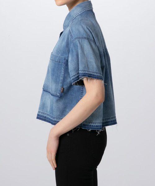 YANUK クロップドシャツ /57191307