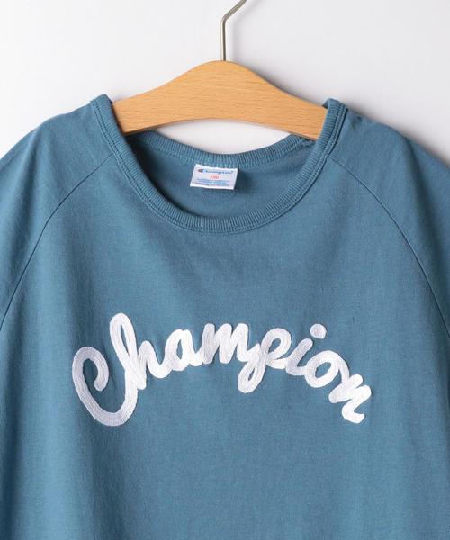 ◆【ジュニア】〔別注〕CHAMPION(チャンピオン)刺しゅうワンピース