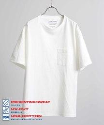 JOURNAL STANDARD(ジャーナルスタンダード)の【Begin8月号掲載】【汗染み防止】US COTTON ヘビーウェイト Tシャツ#(Tシャツ/カットソー)