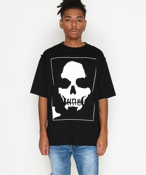 SKULL_BIG T-SHIRT(ビッグシルエットTシャツ)