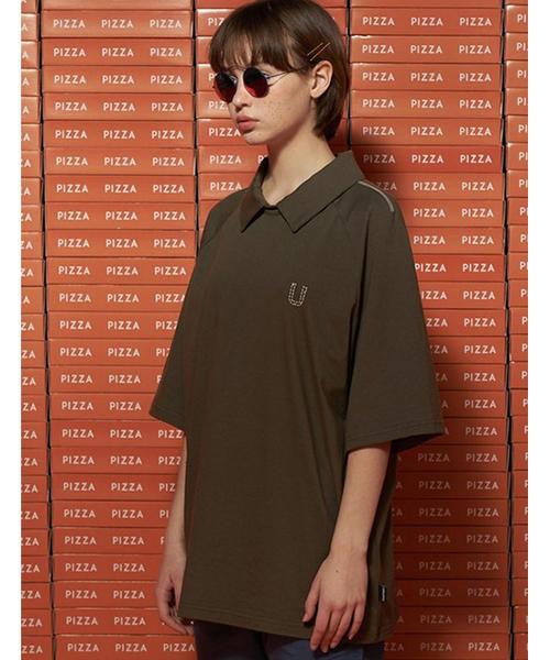 【UNALLOYED】カラー Tシャツ