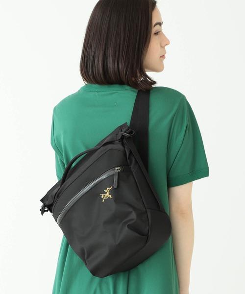 BEAMS BOY(ビームスボーイ)の「ARC'TERYX / Arro8 Shoulder bag(ショルダーバッグ)」 ブラック