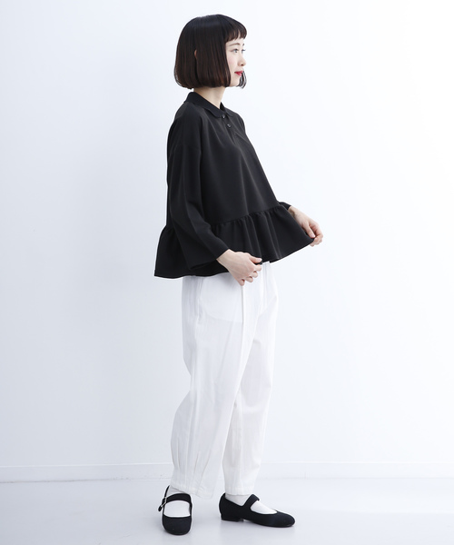 フリルヘムポロシャツ1231