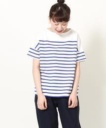 ナバルボーダーTEE(Tシャツ)