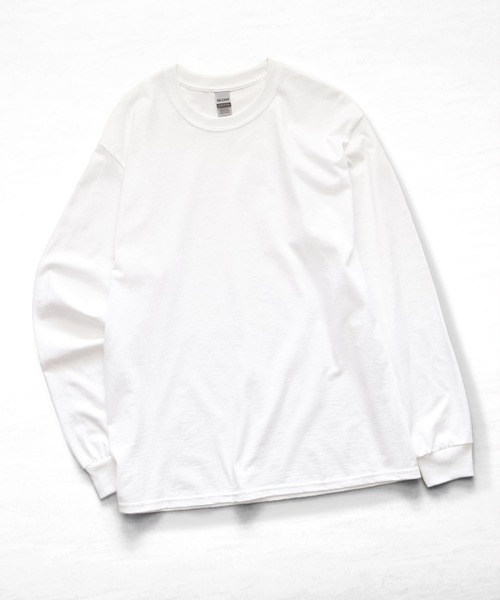 ギルダン ビッグシルエット USA ロングスリーブ Tシャツ カットソー