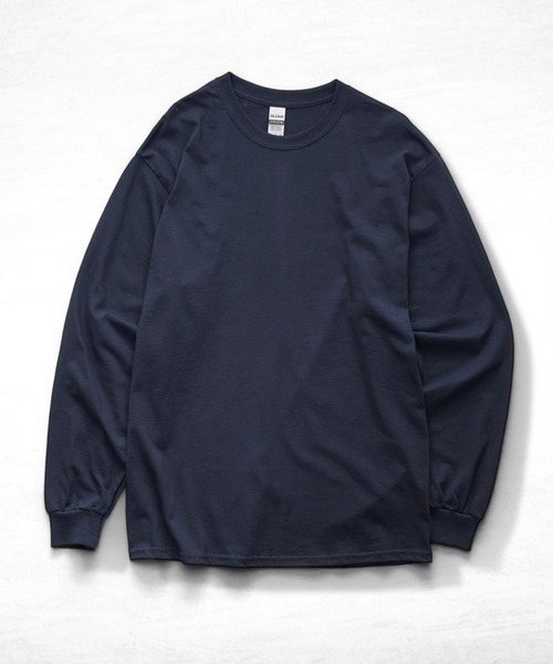 ギルダン ビッグシルエット USA ロングスリーブ Tシャツ カットソー 無地T トップス Tシャツ