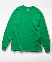 ギルダン ビッグシルエット USA ロングスリーブ Tシャツ カットソー 無地T トップス Tシャツグリーン系その他2