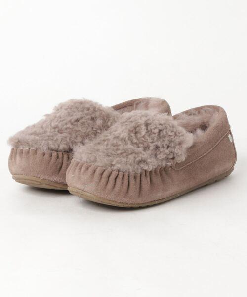 超人気新品 「emu CAIRNS CURLY/エミュー」カーリーファーモカシンシューズ/CAIRNS CURLY Import FUR(モカシン/デッキシューズ) EMU Australia(エミューオーストラリア)のファッション通販, カリス成城@ここちeくらしShop:21f34187 --- svarogday.com