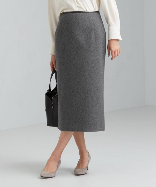 【WORK TRIP OUTFITS】★WTO D P へリーンボーン ロング タイトスカート
