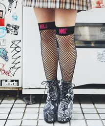 NET KNEE-HIGH ソックス