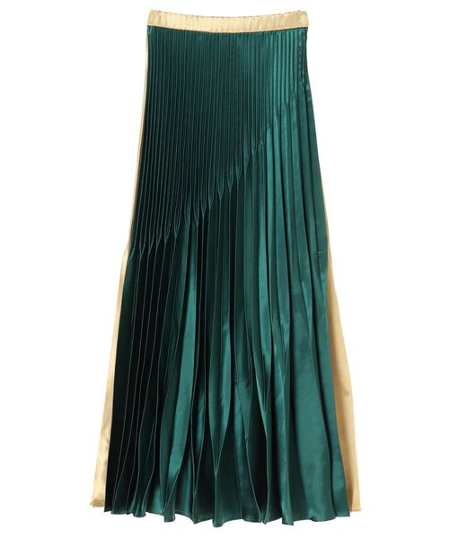 品揃え豊富で オリガミプリーツサテンバイカラースカート(スカート)|UN3D.(アンスリード)のファッション通販, 長野県:153b627e --- blog.buypower.ng