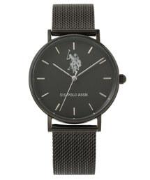U.S. POLO ASSN.(ユーエスポロアッスン)の【U.S. POLO ASSN.】ユーエスポロアッスン 腕時計 メッシュベルト 36mm クォーツ(腕時計)