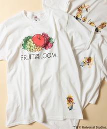 FRUIT OF THE LOOM(フルーツオブザルーム)の【ZOZOTOWN限定】ミニオン×Fruit of the Loom コラボレーションTシャツ(Tシャツ/カットソー)