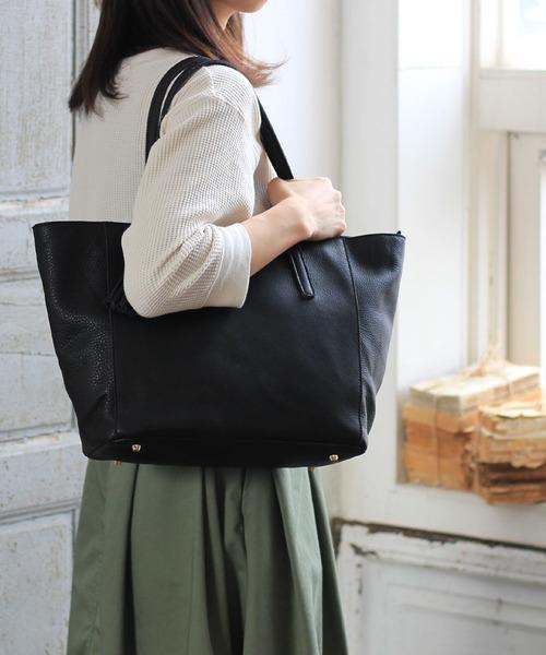 古典 牛革 A4トートバッグ(トートバッグ) Riletto(リレット)のファッション通販, イタリ屋:f1748daa --- 888tattoo.eu.org