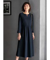 STYLE DELI(スタイルデリ)の【Made in JAPAN】長袖ネオリトルブラックドレス(ドレス)