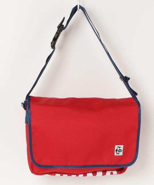 CHUMS(チャムス)の「【CHUMS】Eco CHUMS Messenger Bag(ショルダーバッグ)」|レッド