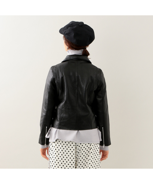 【JUST PRICE OUTER】シープスキンダブルライダース